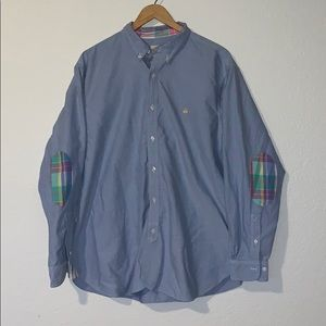 Brooks Brothers Oxford Hirt with Madras Details